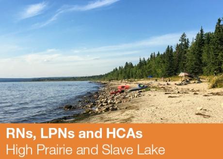 High Prairie and Slave Lake
